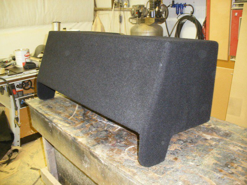 Chevy Colorado Extended Cab Sub Box GMC Canyon Extended Cab Sub Box Chevy Colorado Extended Cab Subwoofer Box GMC Canyon Extended Cab Subwoofer Box