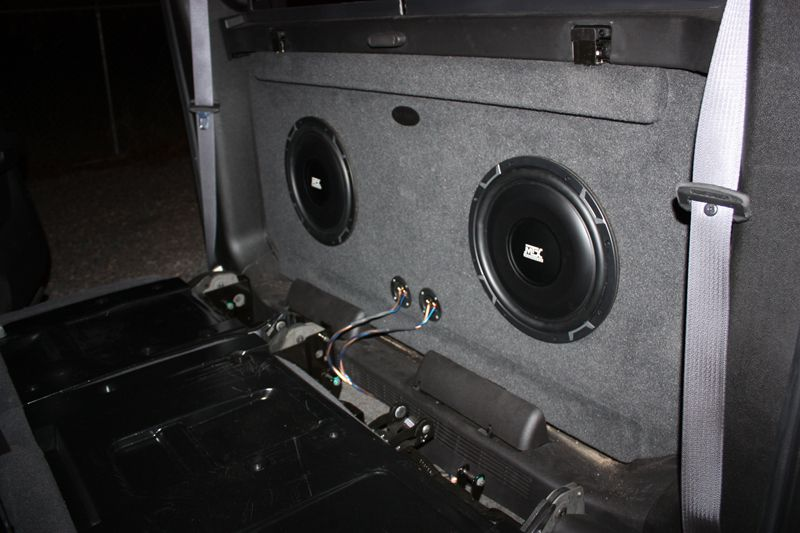 Cadillac Escalade EXT Sub Box Cadillac Escalade EXT Subwoofer Box | Wichita Falls, TX | (940 ...