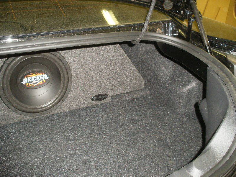 Chevy Camaro Sub Box Chevy Camaro Subwoofer Box Chevy