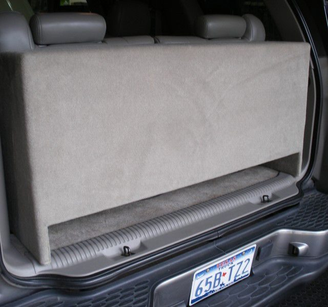 Chevy Tahoe Sub Box Downfire Chevy Tahoe Subwoofer Box Downfire Chevy Tahoe Sub Box Downfire Chevy Tahoe Subwoofer Box Third Row Seat Downfire Sub Bow