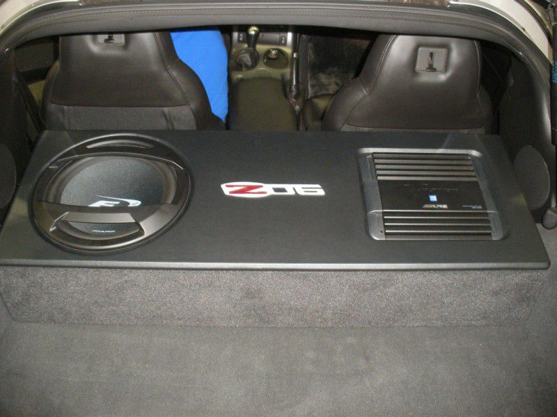 Chevy Corvette Sub Box Chevy Corvette Subwoofer Box C6