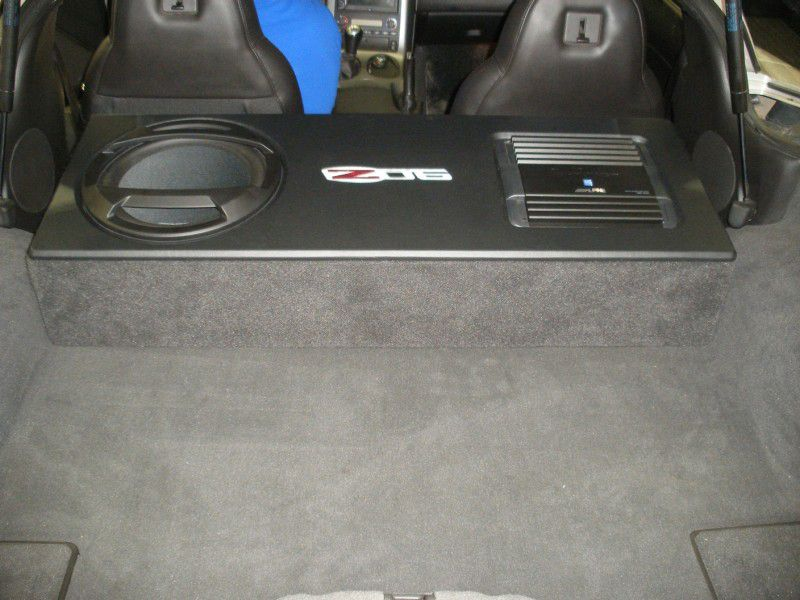 Chevy Corvette Sub Box Chevy Corvette Subwoofer Box C6 ...