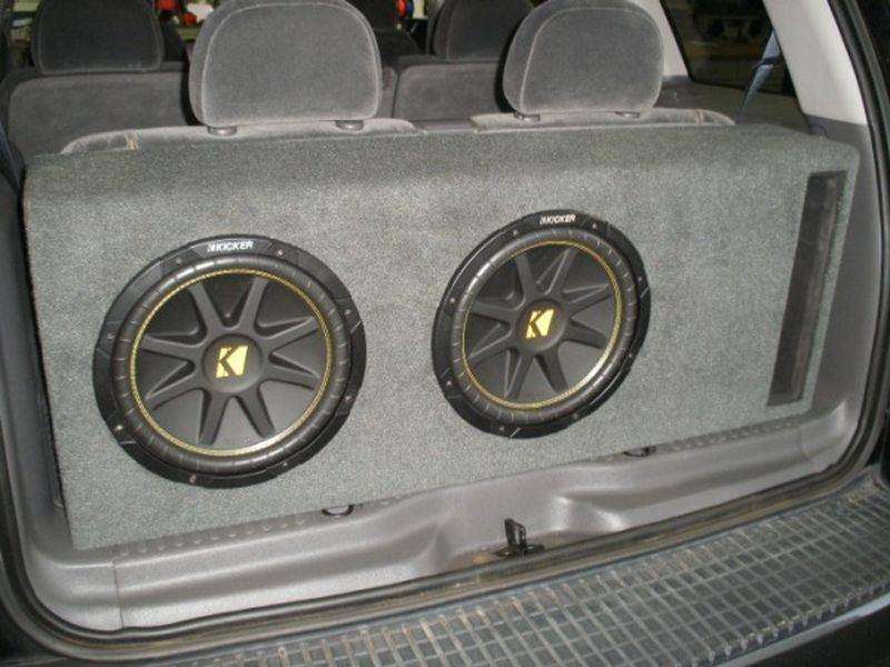 Ford Explorer Sub Box Ford Explorer Subwoofer Box Ford