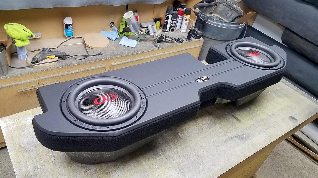 "2007 2010 Ford Sport Trac Subwoofer Enclosure Sub Box 3//4/"" MDF Pick Carpet Color"