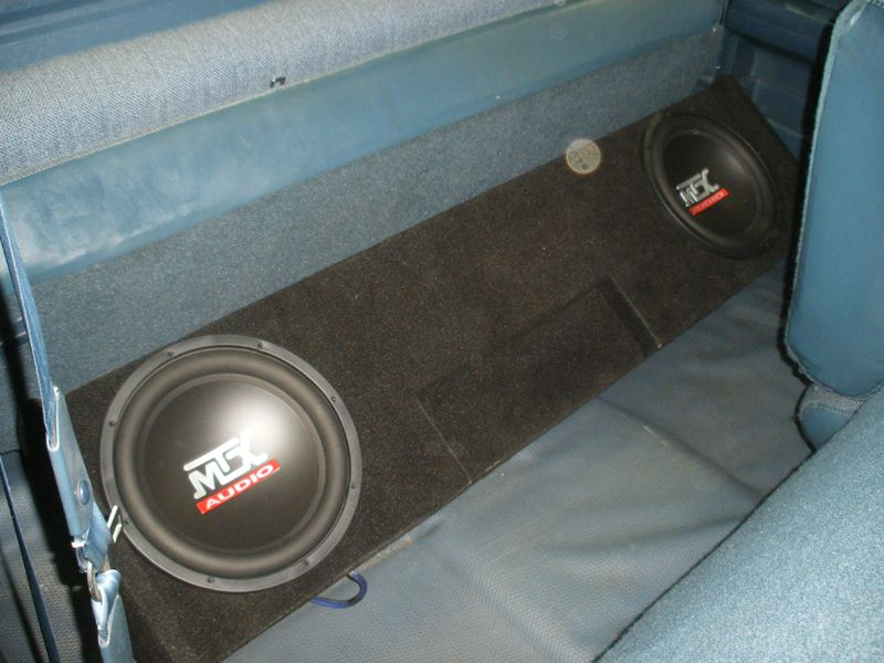 Chevy silverado extended cab sub box gmc sierra extended for 04 chevy silverado door speakers