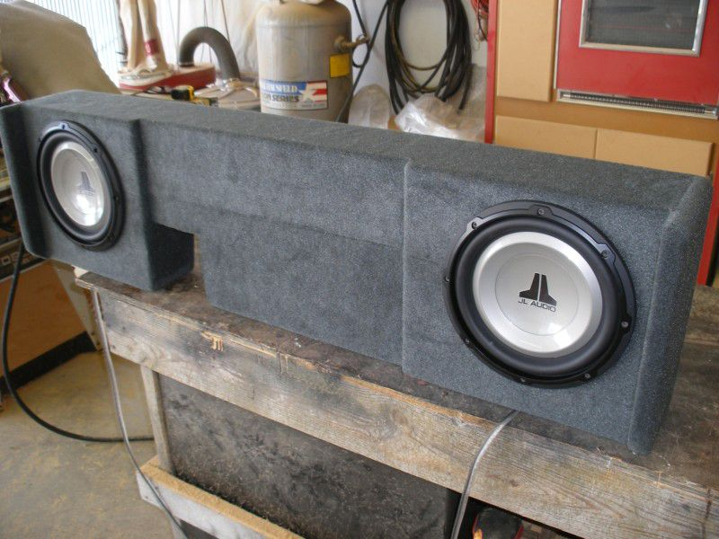 Ford F150 Supercrew Sub Box Ford F150 Supercrew Subwoofer