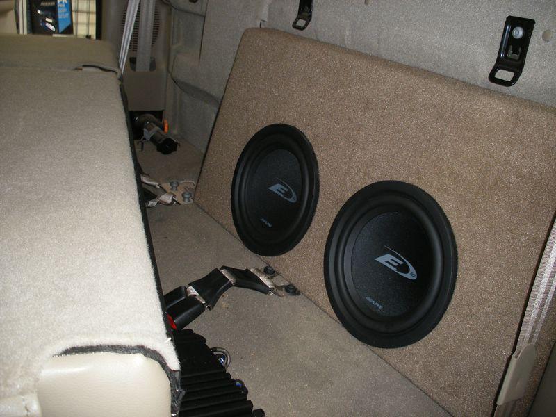f150 supercrew sub box behind seat