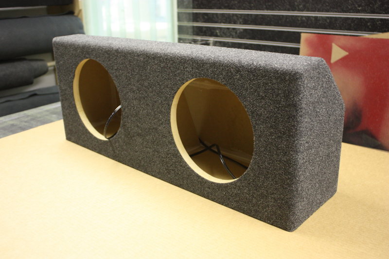 NET Audio » 1994-2004 Ford Mustang Convertible Sub Box | Wichita Falls, TX | (940) 767-1800
