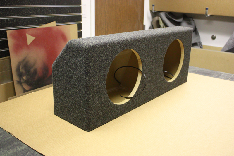 Ford Mustang Sub Box Ford Mustang Subwoofer Box Ford