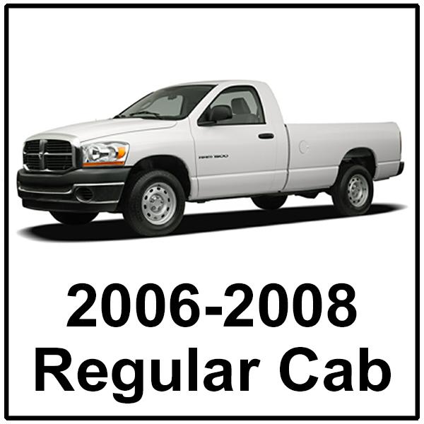 2006-2008 Regular Cab
