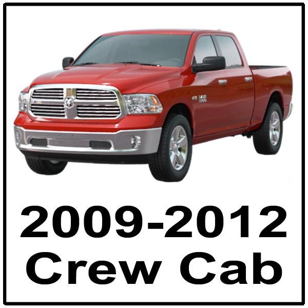 2009-2012 Crew Cab