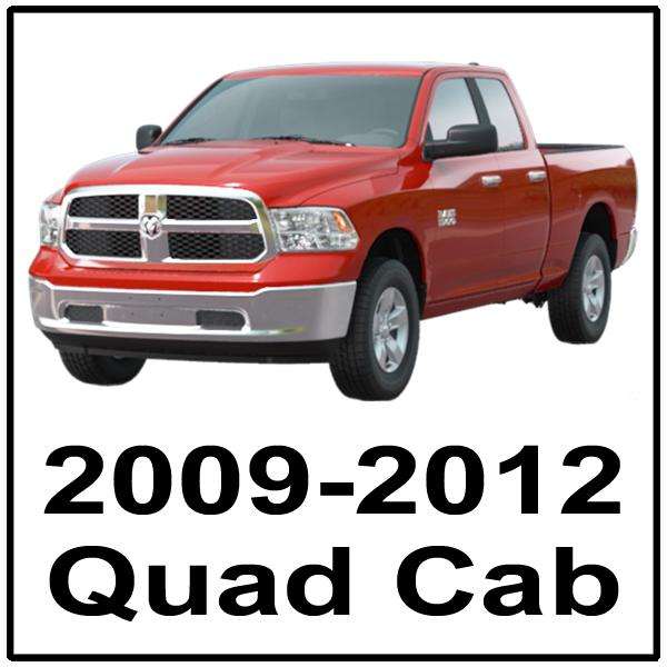 2009-2012 Quad Cab