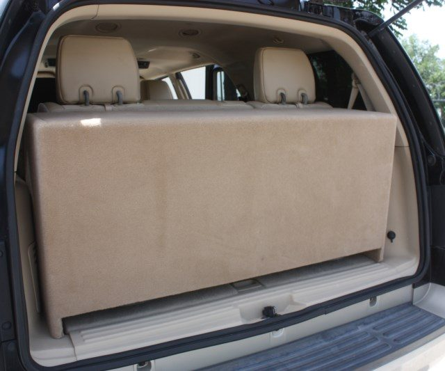 2007-14 Ford Expedition Sub Box Ford Expedition Subwoofer Box Ford Expedition Third Row Sub Box Ford Expedition Third Row Subwoofer Box Third Row Sub Box