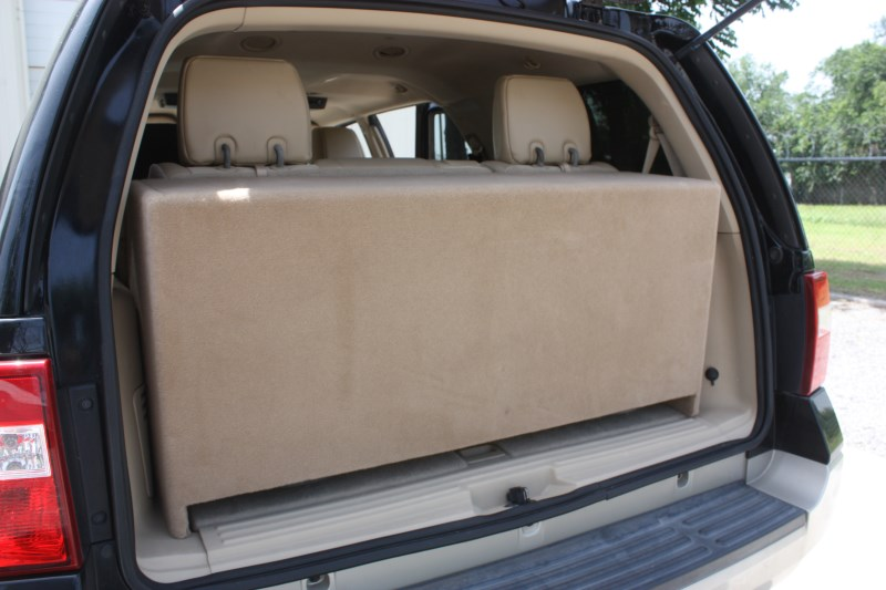 Ford Expedition Sub Box Ford Expedition Subwoofer Box Ford Expedition Third Row Sub