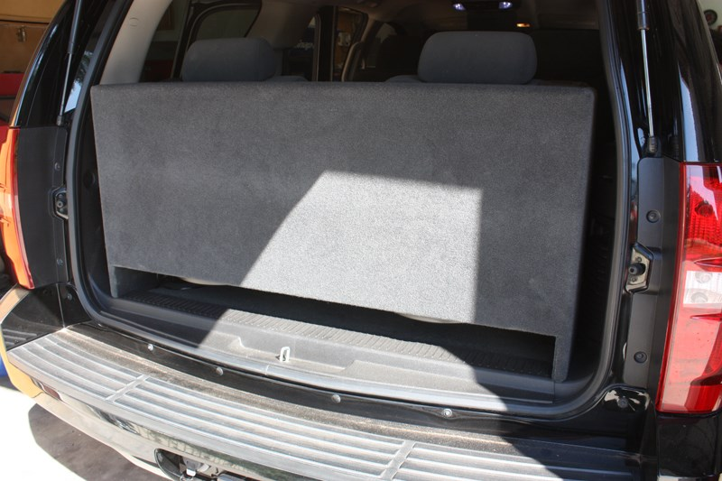 Chevy Tahoe Sub Box Downfire Chevy Tahoe Subwoofer Box ...