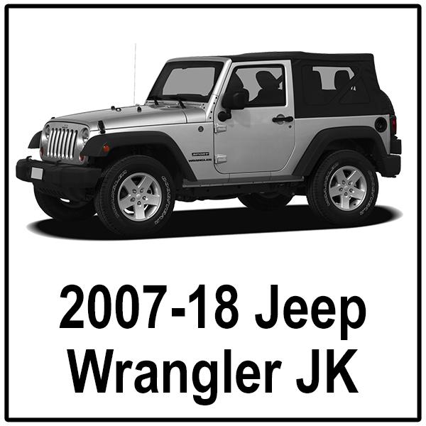 2007-18 Jeep JK 2-Door