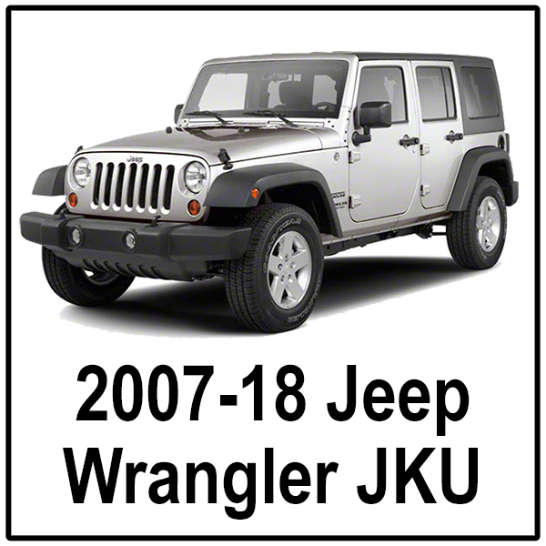 2007-18 Jeep Wrangler JKU Unlimited
