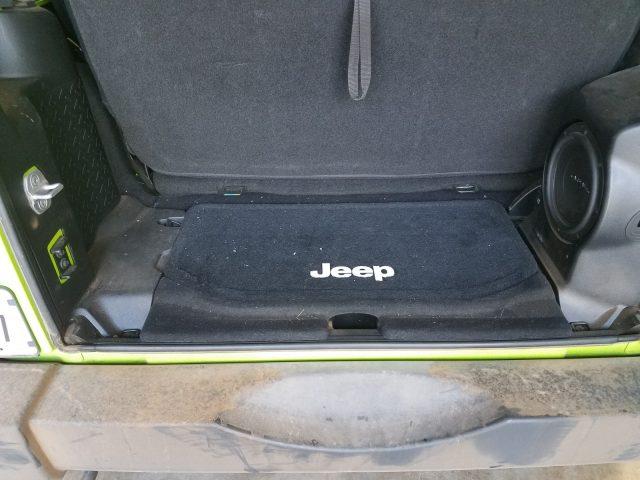 Jeep Wrangler Cargo Tub Box