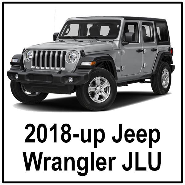 2018-up Jeep Wrangler JLU Unlimited