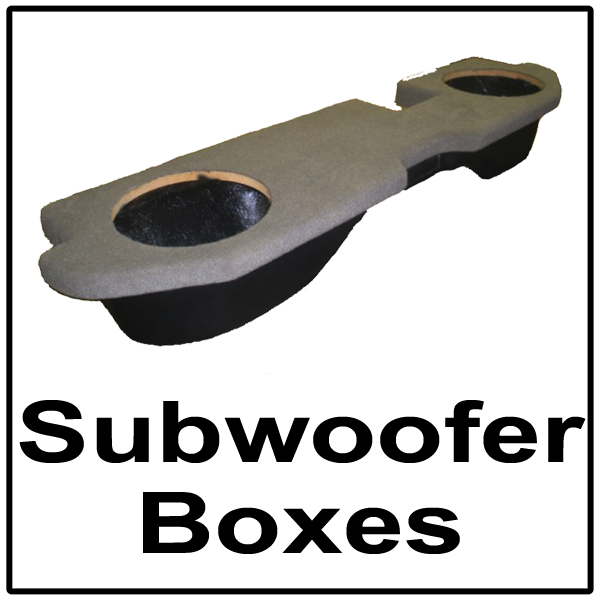 1- Subwoofer Boxes